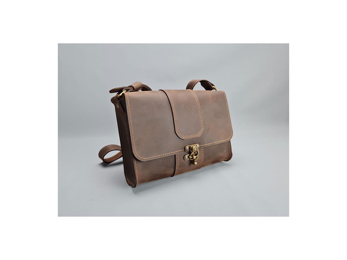 Petit sac cuir femme Vintage / LE FURTIF