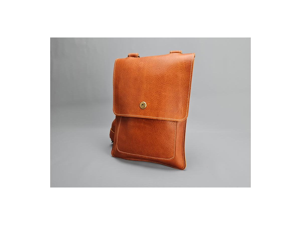 Sac cuir Vintage Fauve Anglais / LE...