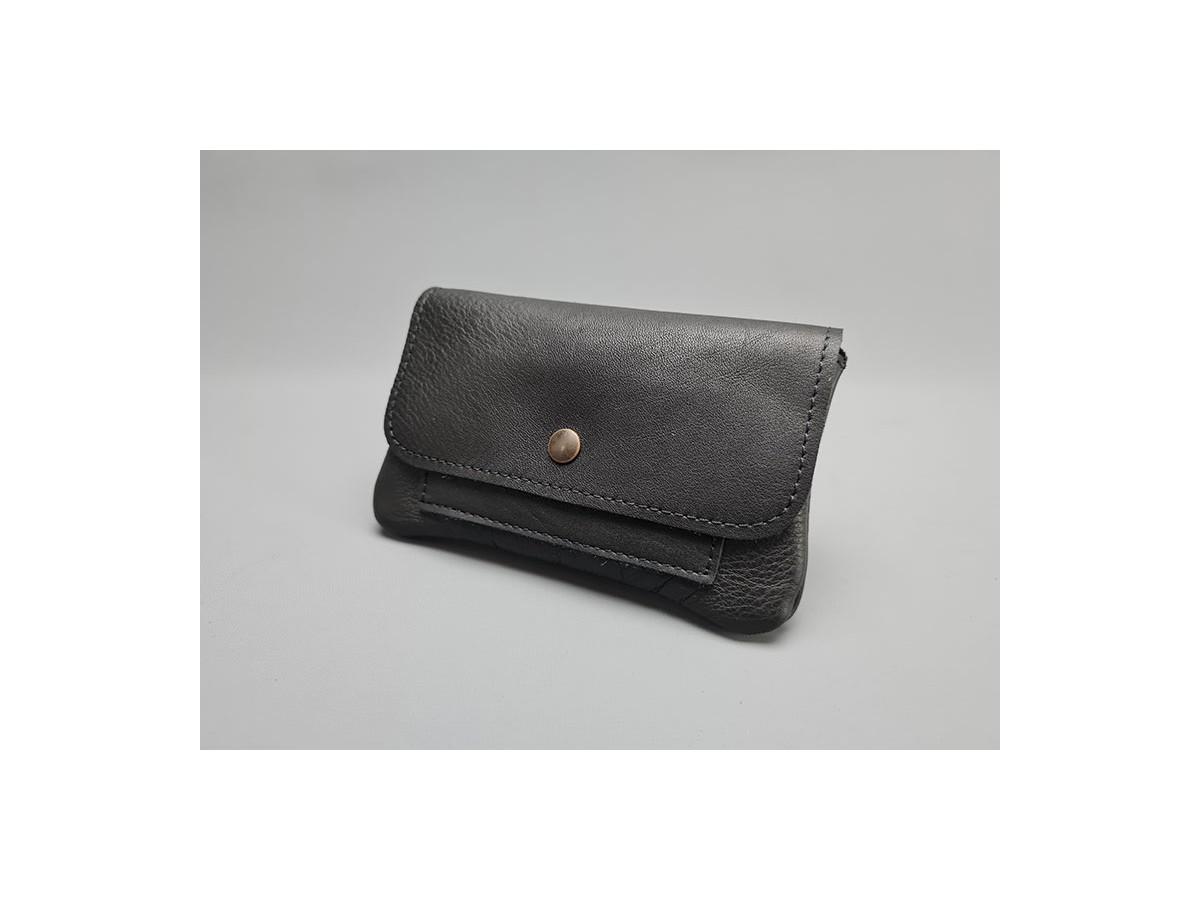 Pochette cuir Noir / Le PORTETOUT